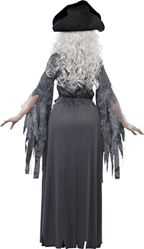 Hat Ship Princess and 22970 Size Women's Ghost Costume Smiffy's 12 Halloween Ship 10 Ghost Dress wtq0xwSzU