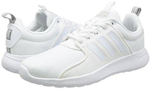 adidas Cloudfoam Lite Racer, Chaussures de Gymnastique Homme, Blanc Cassé (Ftwr White/Ftwr White/Clear Onix Ftwr White/Ftwr White/Clear Onix), 49 1/3 EU