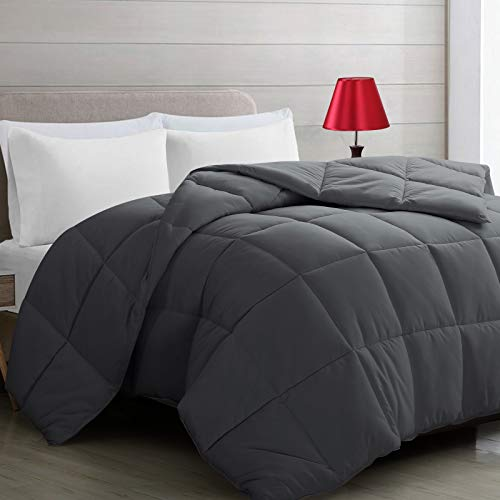 Harkawon Comforter Soft Quilted Down Alternative Duvet Insret with Corner Tabs - Summer & All Season Hypoallergenic Hotel Collection Bed Comforter