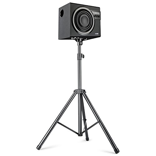 neewer pro adjustable 38 79 inches 97 197 centimeters heavy duty tripod stage speaker stand with. Black Bedroom Furniture Sets. Home Design Ideas