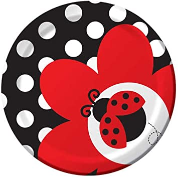 Amazon.com: Creativas Conversión Ladybug Fancy Ronda Postre ...