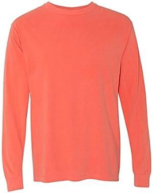 Garment Dyed Heavyweight Ringspun Long Sleeve T-Shirt - 6014