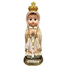 8 Inch New Arrival Innovative Style Child Fatima Statue Catholic Virgin Virgen Santa Fatima Estatua Baby Fatima Sculpture