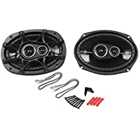 Kicker 2) 41DSC6934 New Kicker D-Series, 3-Way Car Audio Coaxial Speakers, 360 Watt