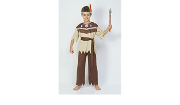 Indian Brave Fancy Dress Costume (disfraz): Amazon.es: Juguetes y ...