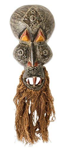 NOVICA ''Obo-Adaka Healer'' African Wood Mask by NOVICA