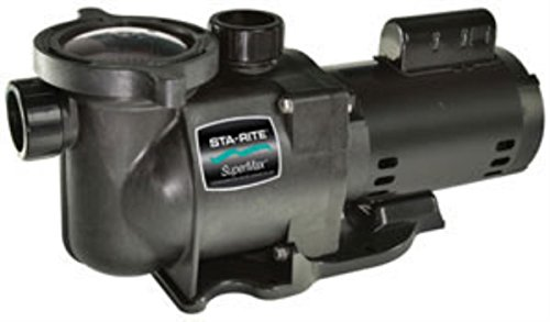 Pentair Sta-Rite N1-3/4A HP SuperMax Standard Efficient Single Speed High Performance Inground Pool Pump, 3/4 HP, 115/230-Volt (3/4 Hp Single Speed Pump)