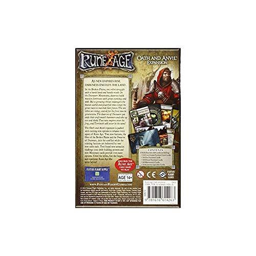 Fantasy Flight Games Reinos de Terrinoth - Juramento y Yunque, Juego de Mesa (Edge Entertainment RA02)