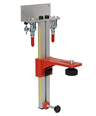 "AdirPro Universal Laser Level Wall (Steel) Mount Bracket for Topcon, Spectra, Leica, Bosch, Hilti and Dewalt Lasers (5/8"" Thread)"