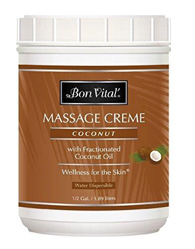Bon Vital BVCOCHG Coconut Creme, 0.5 Gallon