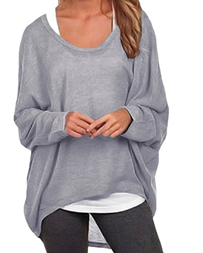 ZANZEA Women's Long Batwing Slee...