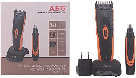 AEG HSM/R 5597 - Cortapelos y cortadora de vello para nariz ...