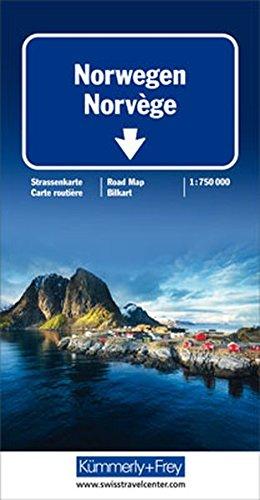 Norwegen Strassenkarte 1:750 000 (Kümmerly+Frey Strassenkarten) (Englisch) Landkarte – 9. April 2018 Hallwag Kümmerly+Frey AG Kümmerly + Frey 3259010580 Karten / Stadtpläne / Europa