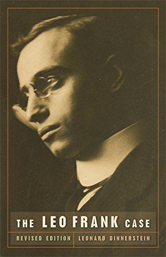 The Leo Frank Case (Brown Thrasher Books Ser.)