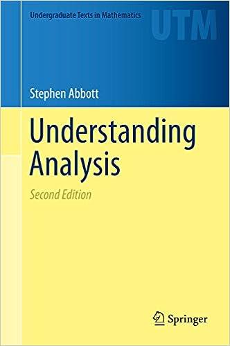 abbott understanding analysis solutions