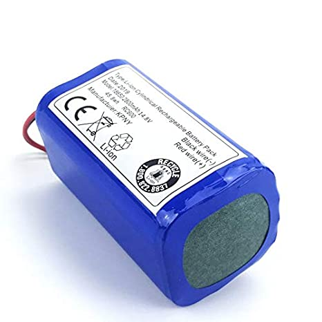 Peanutaso 14.8 V 2800 Mah Robot Aspiradora Paquete de batería de ...