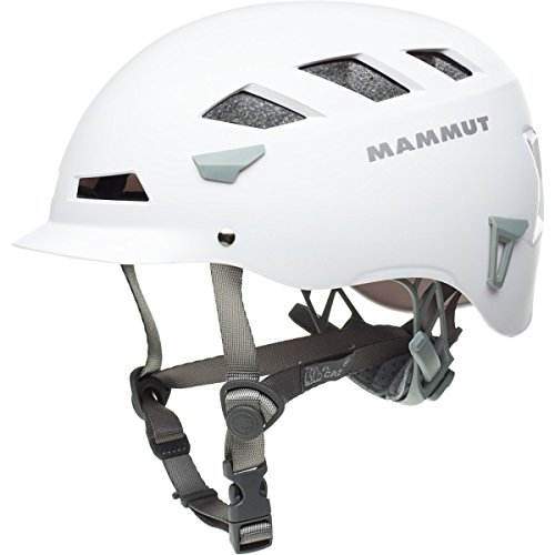 Mammut El Cap Climbing Helmet White/Iron, (Helmet Skate Cap)