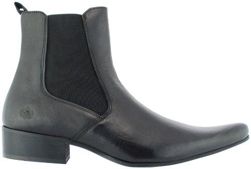 IK3776 Mens Black Revolver Ikon Chelsea Boots wn16x8XzqZ