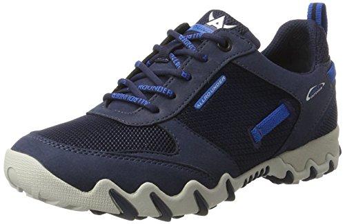 Mephisto Naina, Zapatos de Cordones Derby para Mujer Blau (INDACO/INDACO)