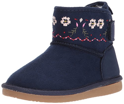 Image of Carter's Girls' Tiana Fashion Boot, Navy, 9 M US Toddler