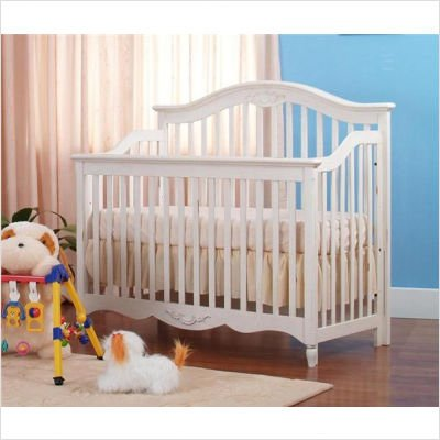 Eden Baby Melody Collection Crib, White