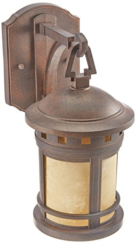 Designers Fountain 2370-AM-MP Sedona Wall Lanterns, Mediterranean Patina