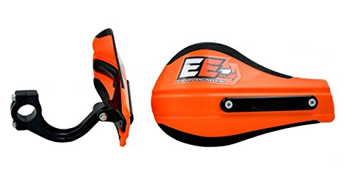 Enduro Engineering Composite Mount Moto Roost Deflector Handguards Orange 53-225