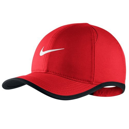 Nike Featherlite Kids Adjustable Hat - Red