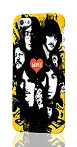 Beatles Personalized Diy Custom Unique 3D Rough Hard Case Cover Skin For iPhone 5C , Design By Graceworld