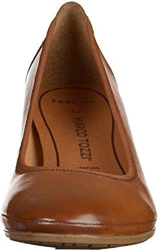 Marco Tozzi 2-22300-28 Damen Pumps Braun(Cognac)