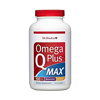 Image of Health and Household Dr. Sinatra's Omega Q Plus MAX - Advanced Heart Health and Healthy Aging Support for Healthy Cholesterol, Blood Pressure, Triglycerides, Blood Sugar with 100mg of CoQ10 and Turmeric (90 Day Supply)