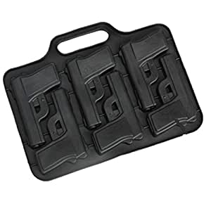 Gun Pistol Ice Cube Chocolate Soap Tray Mold Silicone