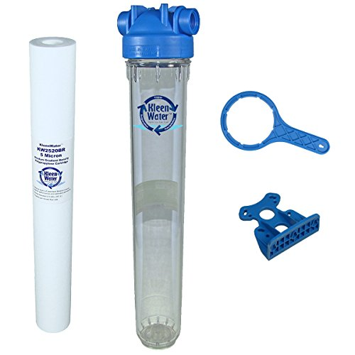KleenWater KW2520HT Highest-ranking Whole House Sediment Water Filter System