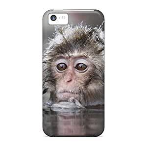 Durable Protector Cases Covers With Sad Monkey Hot Design For Iphone 5c