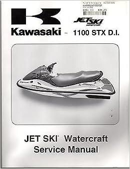 2003 KAWASAKI JET SKI 1100 STX D.I SERVICE MANUAL NEW P/N 99924-1307