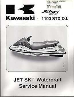2003 kawasaki jet ski 1100 stx d i service manual new p n 99924 1307 rh amazon com kawasaki jet ski 1100 stx service manual pdf kawasaki 1100 stx jet ski owners manual