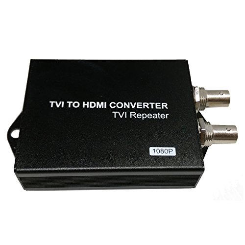 Bnc Boot - 1stPV HD 1080p HDMI Converter convert HD-TVI & AHD signal to HDMI effectively, HD-TVI & AHD Input (BNC) & Loop Out (BNC)