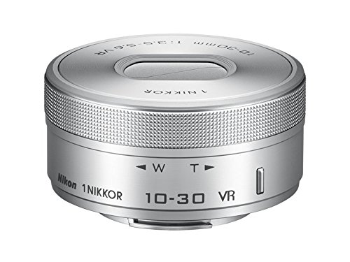 Nikon 1 NIKKOR VR 10-30mm f/3.5-5.6 PD-Zoom Lens (Silver) (International Model) No Warranty Bulk Packaging