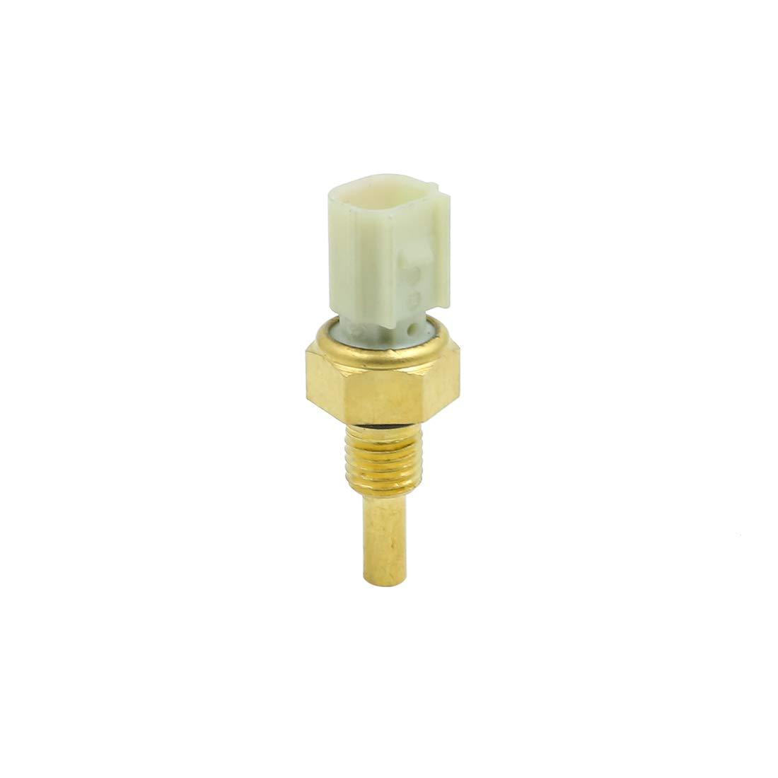 X AUTOHAUX Car 2 Pins Coolant Water Temperature Sensor DC