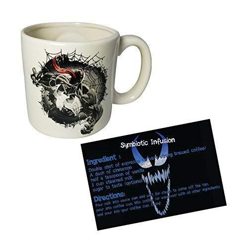 Bundle of 2: Embossed Venom Mug and Symbiosis Injection Recipe Card -