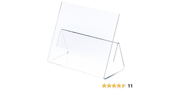 9.75 W x 4.375 D x 7.75 H Plymor Acrylic Cookbook Easel w// Splatter Shield