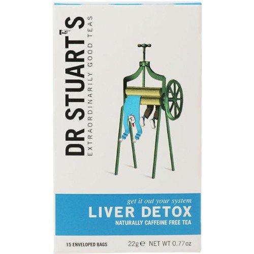 ((4 PACK) - Dr Stuarts - Liver Detox Herbal Tea | 15 Bag | 4 PACK BUNDLE)