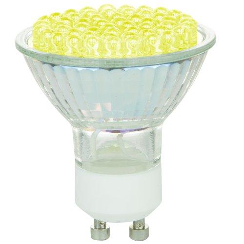 Mr16 Mini Reflector - Sunlite MR16/LED/2.7W/GU10/Y 120-volt GU10 Base LED MR16 Colored Mini Reflector Lamp, Yellow