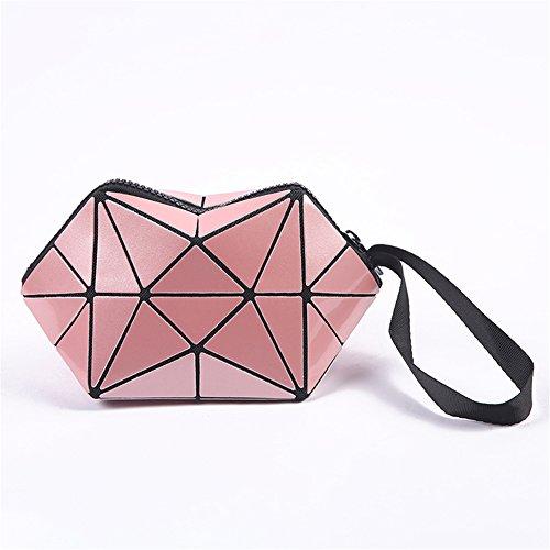 De Bijoux Organisateur De Cosmétique Maquillage pink Sac Sacs De Boîte pour La À Stockage De Mode ANUAN Femme HwzUFtxqH
