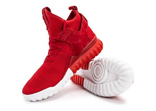 adidas Tubular X Primeknit Rouge Rouge 46
