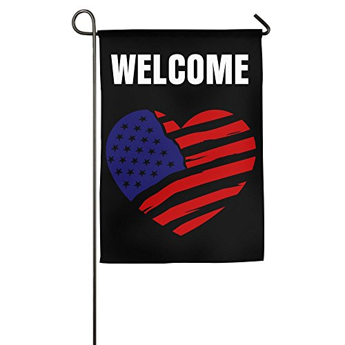 Garden Flag Demonstration Parade Flag Family Party Flag Match Flag United States Of America Flag2 Garden Flag Pole Welcome Design 1218inch ZHONGJIAN (Assorted States United Flags)