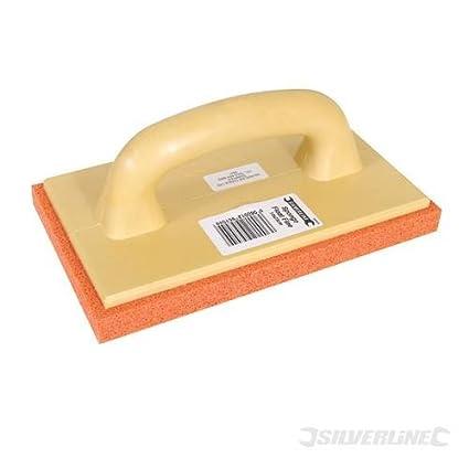 Edificio escayola flotadores poli esponja x Fine esponja pad Bonded a un flotador de poliuretano ligero
