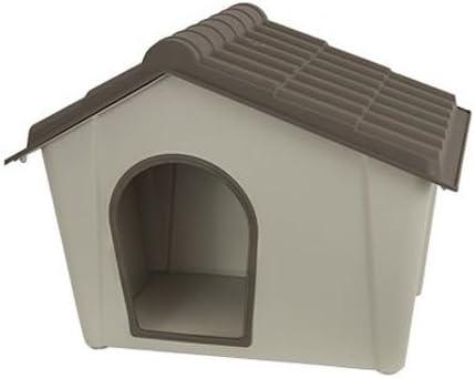 Mps 117055 - Caseta para Perro de Resina, Color Pardo y Beige, 57 x 39 x (Alto) 41 cm: Amazon.es: Productos para mascotas