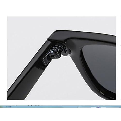 LQABW 2018 Nuevo Gafas De Sol Clásicas Color Del Marco Polarizado UV400 Caminante Neutro Negro Plata Leopardo,绿色