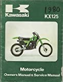 1980 KAWASAKI MOTORCYCLE KX 125 SERVICE MANUAL